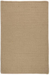 Colonial Mills Sunbrella Solid Ls11 Wheat Area Rug