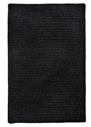 Colonial Mills Simple Chenille M102 Black Area Rug