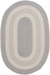 Colonial Mills Crescent Nt31 Silver Area Rug