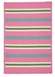 Colonial Mills Painter Stripe Ps71 Spring Pink Area Rug