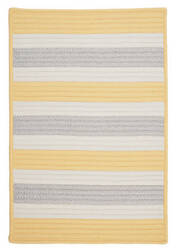 Colonial Mills Stripe It Tr39 Yellow Shimmer Area Rug