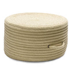 Colonial Mills Solid Chenille Pouf U834 Celery