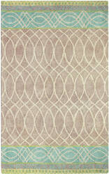 Company C Lattice Swirl 10192 Lake Area Rug
