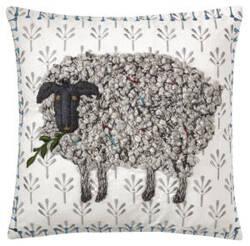 Company C Black Sheep Pillow 10764 White
