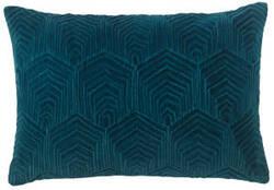 Company C Sloan Velvet Pillow 10734 Teal