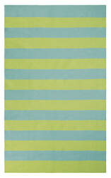 Company C Awning Stripe 10296 Lake Area Rug