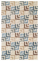 Company C Squared Off 10733 Gray Area Rug