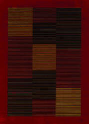Couristan Everest Hamptons Red Area Rug
