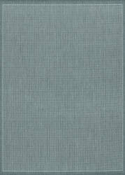 Couristan Recife Saddlestitch Grey - White Area Rug