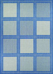 Couristan Recife Summit Champ - Blue Area Rug