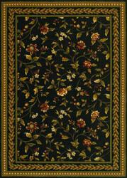 Couristan Royal Luxury Winslow Ebony Area Rug