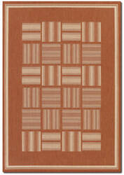 Couristan Recife Bistro Terracotta - Natural Area Rug