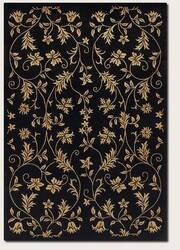 Couristan Silken Treasures Elysium Midnight 1850-0181 Area Rug