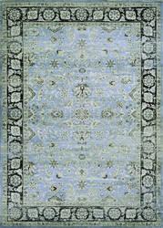 Couristan Zahara Serab Slate - Blue - Black Area Rug