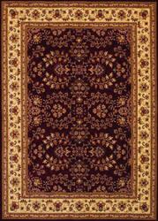 Couristan Anatolia Antique Herati Red - Cream Area Rug