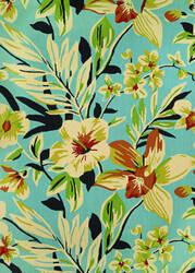 Couristan Covington Whimsical Garden Powder Blue - Multi Area Rug