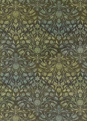 Couristan Dolce Coppola Brown - Beige Area Rug