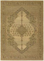 Couristan Timeless Treasures Diamond Sarouk Antique Cream Area Rug