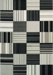 Couristan Afuera Patchwork Onyx - Ivory Area Rug