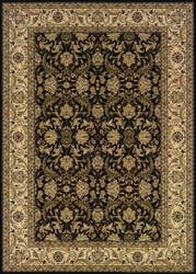 Couristan Himalaya Isfahan Ebony - Antique Creme Area Rug