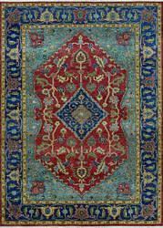 Couristan Tenali Azeri Rust - Sapphire Area Rug