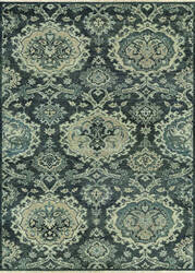 Couristan Tenali Malayer Grey Area Rug