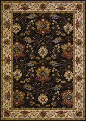 Couristan Everest Khalista Chocolate Area Rug