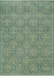 Couristan Tenali Floral Arabesque Sage Green Area Rug