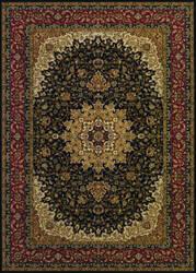 Couristan Izmir Royal Kashan Black Area Rug
