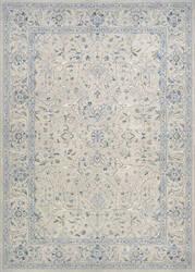 Couristan Sultan Treasures Floral Yazd Grey Area Rug