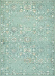 Couristan Provincia Odette Mint - Cream Area Rug