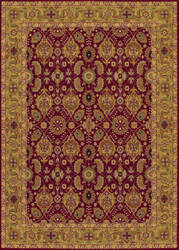 Couristan Royal Kashimar All Over Vase Persian Red Area Rug