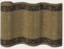 Couristan English Manor Newcastle 3348-0003 Green A Custom Length Runner