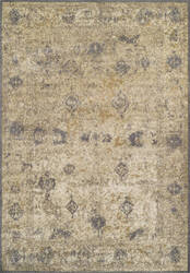 Dalyn Antiquity Aq1 Ivory-Grey Area Rug