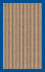 RugStudio Riley EB1 wheat 109 cobalt Area Rug