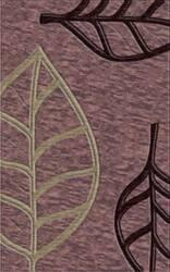 Rugstudio Riley DL13 Violet-Grape Ice-Silver Area Rug