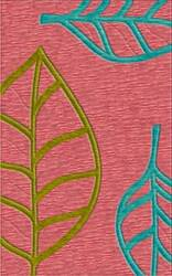 Rugstudio Riley DL13 Bubblishous-Peacock-Avacado Area Rug