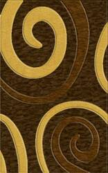 Rugstudio Riley DL17 Mocha-Golddust-Caramel Area Rug