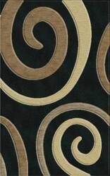 Rugstudio Riley DL17 Black-Stone-Putty-Silver Area Rug