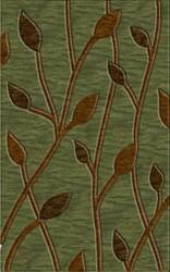 Rugstudio Riley DL22 Fern-Caramel-Mocha Area Rug