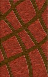 Rugstudio Riley DL24 Rich Red-Caramel Area Rug