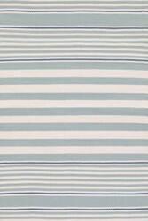 Dash And Albert Beckham Stripe Light Blue Area Rug