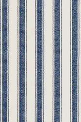 Dash and Albert Blue 56166 Awning Stripe Area Rug