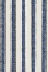 Dash And Albert Blue Awning Indoor-Outdoor Blue Area Rug