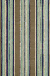 Dash and Albert Blue 56167 Heron Stripe Area Rug