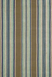 Dash And Albert Blue Heron Indoor-Outdoor Blue Area Rug