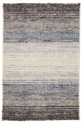 Dash And Albert Blue Moon Wool Blue Area Rug