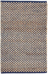 Dash And Albert Boomer Woven Navy Area Rug
