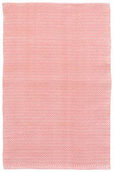 Dash And Albert C3 Herringbone Indoor-Outdoor Coral Area Rug