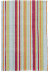 Dash And Albert Clara Stripe Multi Area Rug